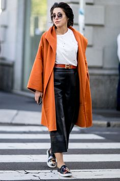 Pin for Later: All the Best Street Style From Milan Fashion Week Milan Fashion Week, Day 2