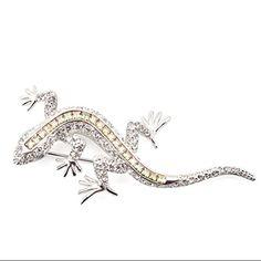 Lizard Brooch by Jeremy Tosh l £65 l V&A Shop #Christmas #Jewellery