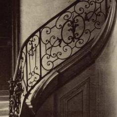 Atget Eugene Atget, Edouard Manet, Stairway To Heaven, Ansel Adams, Love Painting, Stairways, Old Houses, Impressionism, Old Photos