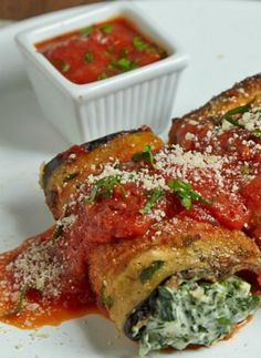 Make this easy with Dominex Eggplant Cutlets. Eggplant Roll Ups Recipe Video  #Philly4Passover: