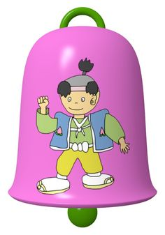 Momotarou Bell / #Music #Instrument #Boy #桃太郎 #日本昔話