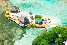 Roatan Island Honduras - Little French Key (aka Paradise) - Snorkeling/Zoo/Beach/Water Fun - Feb 2015