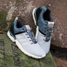 Adidas ZX Flux Deconstructed Sneaker Clear Onix Core Black