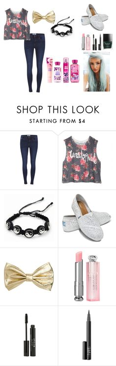 Pretty Casual by aryamel on Polyvore featuring moda, dELiA*s, ONLY, TOMS, CO, H&M, Stila, NARS Cosmetics and Racing Green