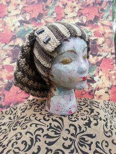 Slouchy Crochet Hat Women Men Girl Boy Teen Slouch Bulky Beanie Chunky Grunge Winter Fall Hat Floppy Funky Baggy Hand Made Hat Gift