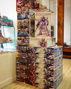 Nuevos Gunplas! De a poco van llegando los nuevos pedidos de Gundam. Recuerden que pueden pedirnos el modelo que deseen sin importar que este o no en nuestra tienda virtual! #Zaitama #gundam
