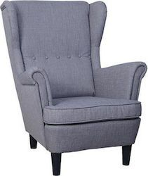 Venza Μπερζέρα 06-0051 - Skroutz.gr Wingback Chair, Armchair, Accent Chairs, Furniture, Home Decor, Sofa Chair, Upholstered Chairs, Decoration Home, Room Decor