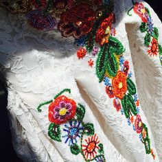 The happy dress #tradional #romanian #embroideries #delicate #lace #parlordress #parlorstudio #handmade #demicouture #fashion #glam #style