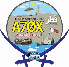 VIA M0OXO for Al-Safliyah island 01-07 January 2017