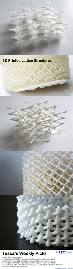 Tessa's Weekly Picks – 3D Printed Lattice Structures