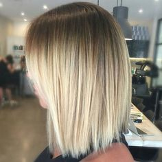 Shadow blonde... the shorter side of Ombré ;) by @hairbykaitlinjade #behindthechair #shadowroot #ombrehair