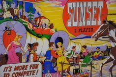 Glace de flipper gottlieb sunset 1962 Sports & Hobbies Ille-et-Vilaine - leboncoin.fr