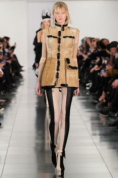 Maison Margiela | Spring/Summer 2015 Couture via Designer John Galliano | Modeled by Nastya Sten | Look 1 of 24 | January 12, 2015