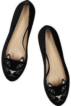 The Holy Grail of feline-themed footwear. | 40 Quirky Styles For The Cat Lover's Wardrobe