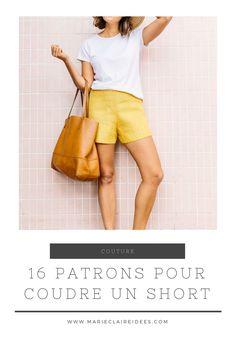 16 patrons pour coudre un short
