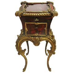 Elegant jewelry Louis XV   From a unique collection of antique and modern boxes at https://www.1stdibs.com/furniture/more-furniture-collectibles/boxes/