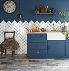 Image result for herringbone tile kitchen