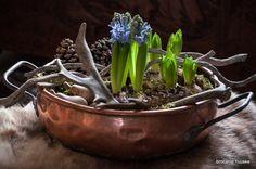 copper flowers Kom Achterom