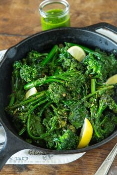 Pesto Broccoli - quite possibly the easiest and most delicious side dish!