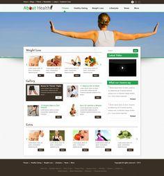 Web design for health