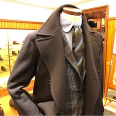 BROWN×GREEN COAT STYLE