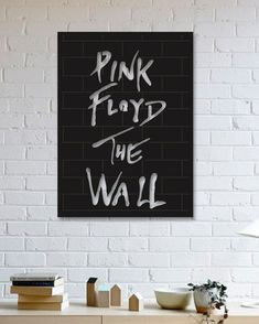 Pink Floyd Metal Plaka - The Wall