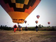 Si te gustan las #experiencias diferentes ven a #Apan #Hidalgo #Mexico y #vuela en #globo #HidalgoUnDestinoSinIgual