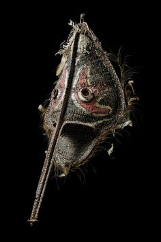 "Big wickerwork mask ""didagur"" - Papua New Guinea - Middle Sepik"
