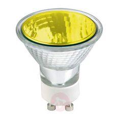 Prezzi e Sconti: #Riflettore gu10 50w 25 giallo  ad Euro 4.90 in #Sylvania #Lampadine lampadine alogene
