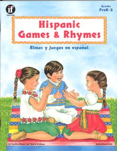 This exciting bilingual resource contains Central and South American poems, games, rhymes, and songs that have been translated into English. Educators can approach these traditional games and rhymes to enjoy in either or both languages. The book is beautifully illustrated and contains many patterns for fingerplays.