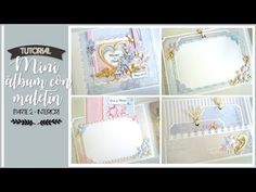 MINI ALBUM CON MALETIN, CON KORA PROJECTS - TUTORIAL (PARTE 3 - DECORACION) | LLUNA NOVA SCRAP - YouTube