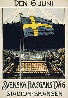 Gustaf Ankarcrona – Wikipedia History Of Sweden, European History, Swedish Flag, Swedish Girls, National Day Today, Welcome To Sweden, Visit Sweden, Stockholm Sweden, Juni