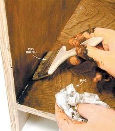 Q & A: Getting Stain Out of Corners - Popular Woodworking Magazine