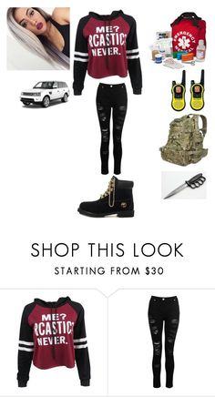 """""""Sage"""" by animewolf-354 ❤ liked on Polyvore featuring Timberland, INC International Concepts and Motorola"""