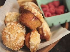 Leah Miller's Raspberry Muffins. Canadian.
