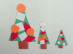 Christmas tree shapes activity || Gift of Curiosity