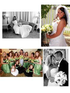 Kasi Jarrett. Bridal gown, veil, & bridesmaids!  www.belfiorebridal.com
