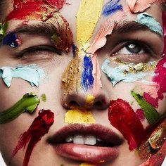 Unleash your true colours & support all our brothers and sisters who are celebrating regram this is one we did for Makeup Inspo, Makeup Art, Makeup Inspiration, Beauty Makeup, Too Faced, Benefit Cosmetics, Kendall Jenner, Tush Magazine, Magazine Covers