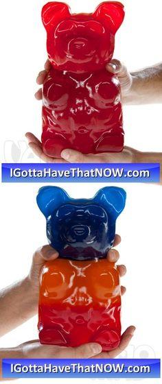 Huge Gummy Bears!!! http://IGottaHaveThatNOW.com