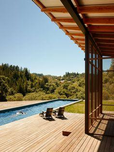 Soñarás con tener una terraza como esta http://architizer.com/projects/camp-baird