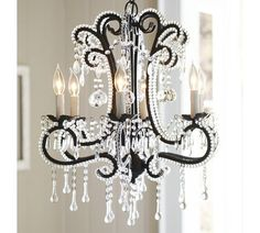 "Master - Chandelier - MFR: Pottery Barn - Katerina Beaded Crystal Chandelier - Dimensions: 21.5"" dia, 25.5""h - $349 retail"