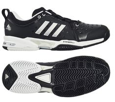 promo code d3576 75f8d adidas Barricade Classic Wide Mens Tennis Shoes Racquet Racket Black NWT  CP8694 adidas Badminton Shoes
