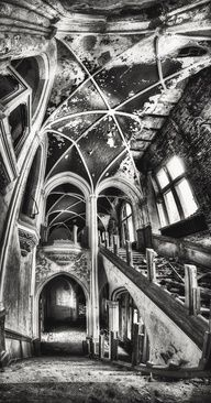 Stairway in Decay by Marcel Wetterhahn, via 500px Chateau Noisy