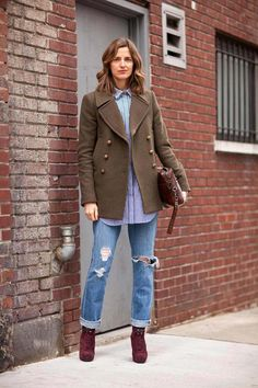 Street Style Fall 2012 - New York Fashion Week Street Style - Harper's BAZAAR. menswear