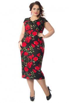 Купить черное эксклюзивное платье с цветами в интернет-магазине (цвет: черный, мультиколор) | ВА-П3-3479/1