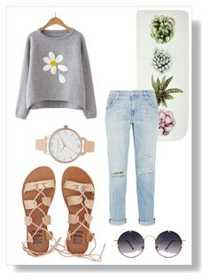 """""""finding the sun in rainy and sad days!!🌻✌🏼️"""" by alli0228 ❤ liked on Polyvore featuring Current/Elliott, Billabong, Spitfire and Olivia Burton"""