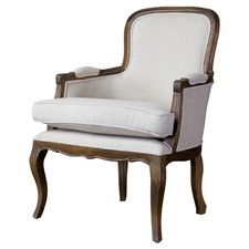 Baxton Studio Napoleon Traditional French Arm Chair