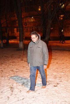 view point: Ukrainian Man Has Been Walking Barefoot for the La...