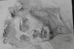 #David#pencil#process of work#Давид#процесс работы