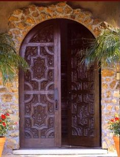 One of many Feng Shui front door & entrance designs.